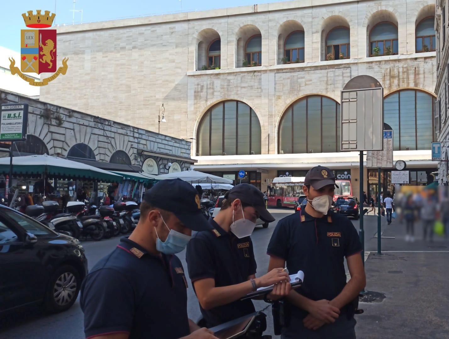 Roma, controlli e arresti da parte della Polizia di Stato alla Stazione Termini