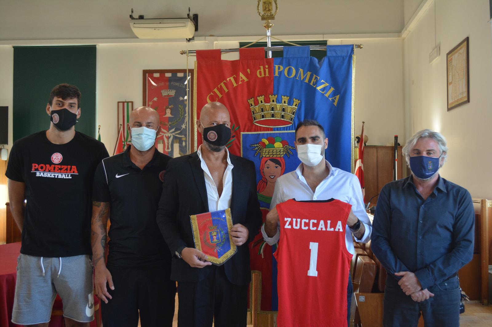 Pomezia, il Sindaco riceve la Virtus Pomezia Basket