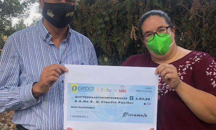 Frattocchie, raccolta fondi da 14mila euro per la S.A.Ne.S.