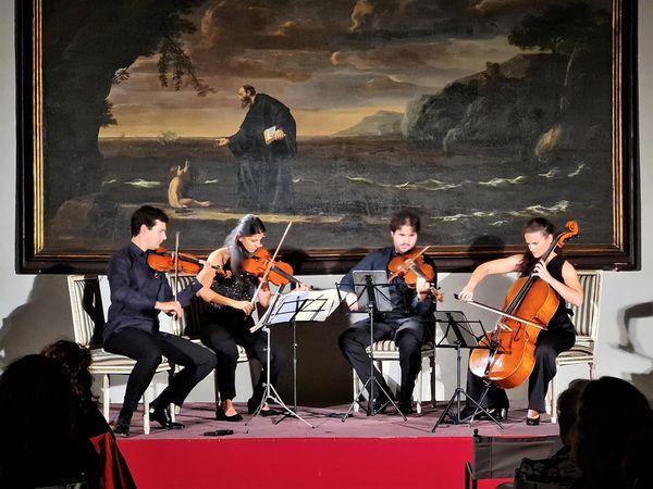Ariccia, grande successo per il Quartetto Guadagnini e Accademia degli Sfaccendati a Palazzo Chigi