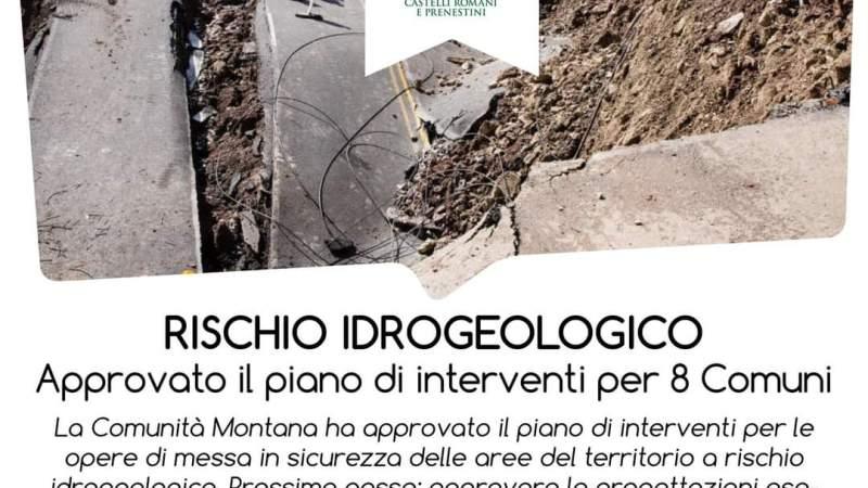 Frascati, rischio idrogeologico, anche il Comune di Frascati nel piano di interventi per la messa in sicurezza del territorio
