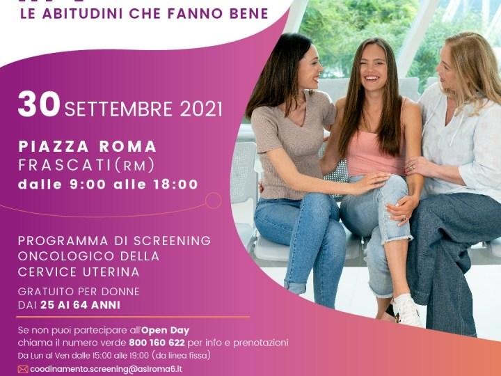 Frascati, parte dalla Asl Roma 6 la campagna regionale degli screening oncologici