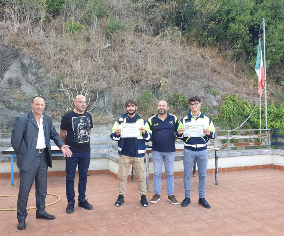 Castel Gandolfo, Consegnati i primi Brevetti subacquei. Presenti alla cerimonia Andrea DE Vivo e Alberto de Angelis