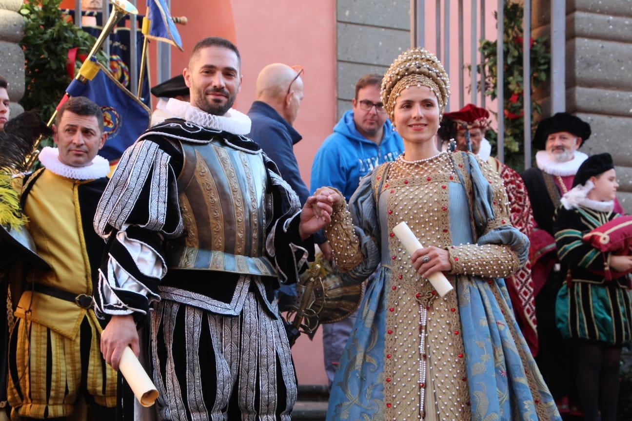 Marino, un grande successo oggi per il corteo storico alla Sagra dell'uva e del vino [FOTO]