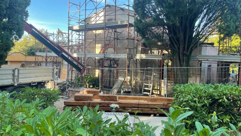 Nemi, amministrazione Bertucci avvia i lavori di restauro della chiesa del cimitero comunale