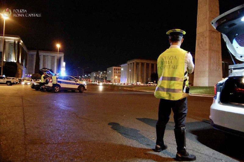 Roma, Eur, incidente stradale con fuga e omissione di soccorso