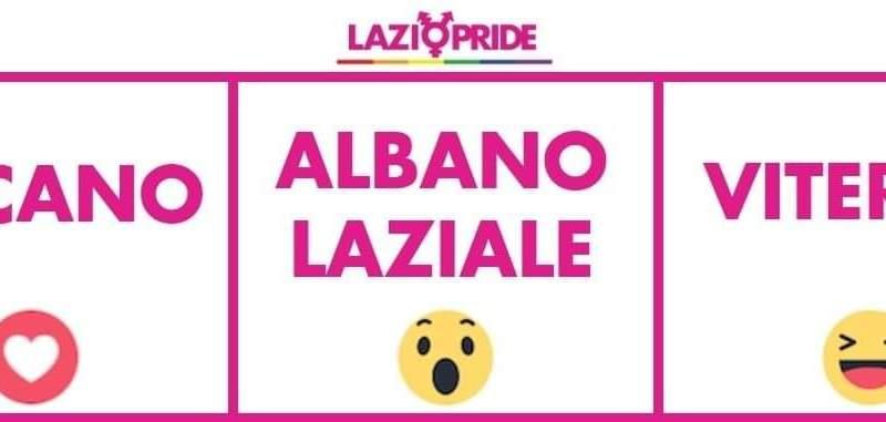 Albano, al via le votazioni sui social  per il Lazio Pride