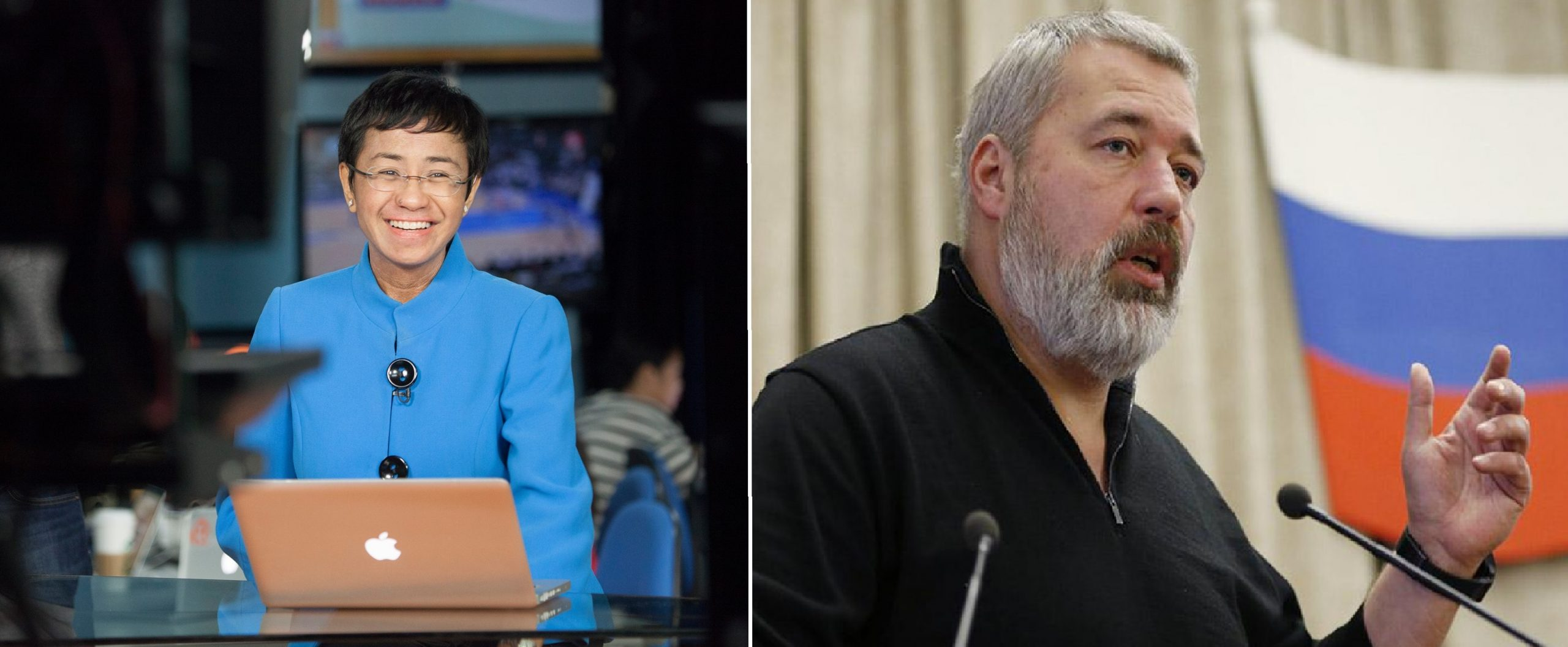 Nobel per la pace 2021: i vincitori sono Dmitry Muratov e Maria Ressa