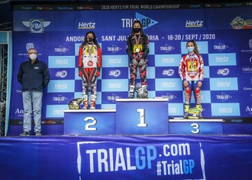 Andrea Sofia Rabino al debutto conclude terza la stagione 2020 della FIM Women's Trial2 World Cup (Ph. Pep Segales/FIM)