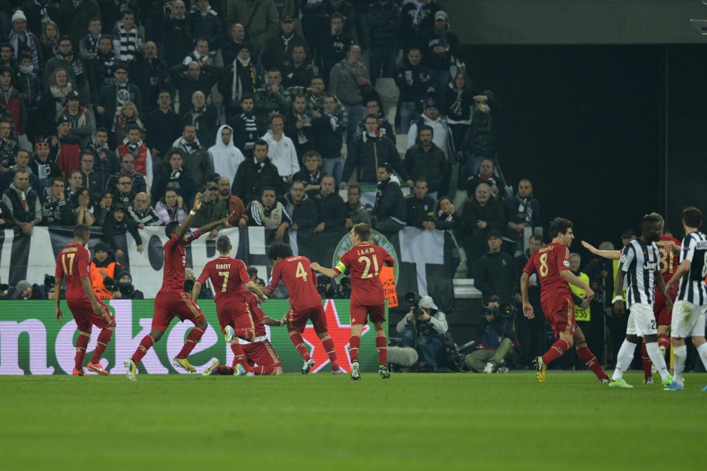 Juve umiliata in casa dal Bayern