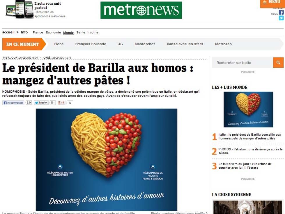 barilla pubblicita gay 3
