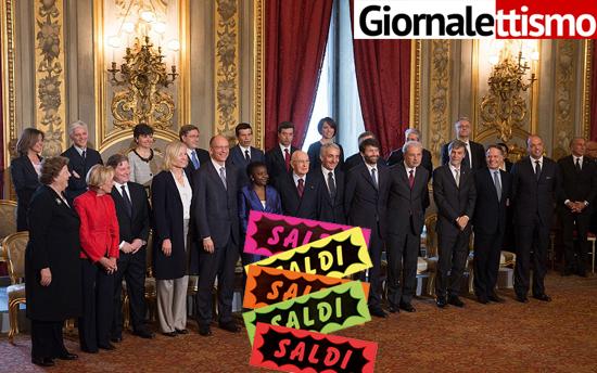 Prime Minister Designate Enrico Letta Presents New Italian Government