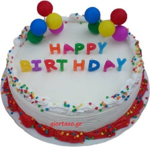Read more about the article happy birthday-Τούρτες γενεθλίων