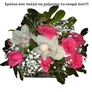 Χρόνια σου πολλά να χαίρεσαι το ονομά σου!!!