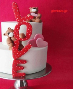 Read more about the article ΤΟΥΡΤΕΣ ΑΓΑΠΗΣ LOVE CAKES