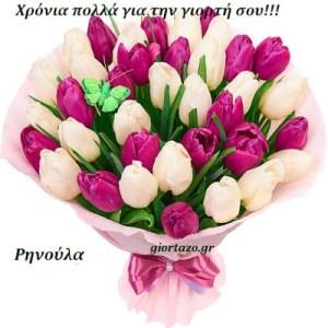 Ρηνούλα  Χρόνια Πολλά!!!!…….giortazo.gr