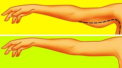 13 ασκήσεις του 5άλεπτου που θα μεταμορφώσουν τα χαλαρά μπράτσα σε σφριγηλά – ΒΙΝΤΕΟ