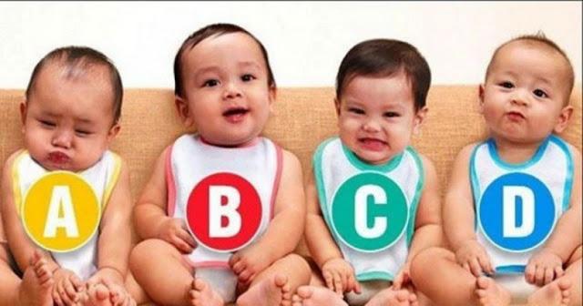 Ποιό από τα μωρά είναι κορίτσι