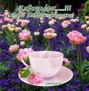 Μια γλυκιά καλημέρα σε όλους.. όμορφο Σαββατοκύριακο να έχετε..!! ( εικόνες καλημέρας για Σαβ/κο)…..giortazo.gr