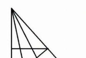 Μόνο οι πολύ έξυπνοι βλέπουν περισσότερα από 18 τρίγωνα…Εσείς πόσα διακρίνετε;