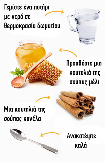 Read more about the article Αντίο Στο Περιττό Βάρος Ρόφημα με κανέλα και μέλι