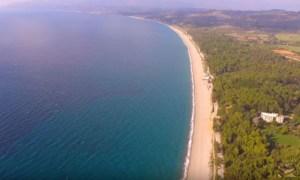 Η Μεγαλύτερη Παραλία Με Άμμο Στην Ευρωπαϊκή Ένωση Βρίσκεται Στην Ελλάδα! -ΒΙΝΤΕΟ