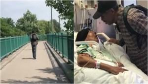 Read more about the article 99χρονος περπατάει κάθε μέρα 6 μίλια εδώ και 9 χρόνια για να δει την βαριά άρρωστη γυναίκα του με καρκίνο