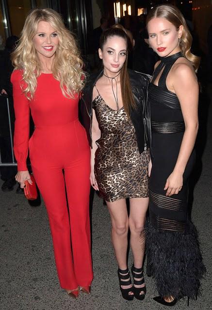 Η Christie Brinkley με τις κόρες της Sailor and Alexa