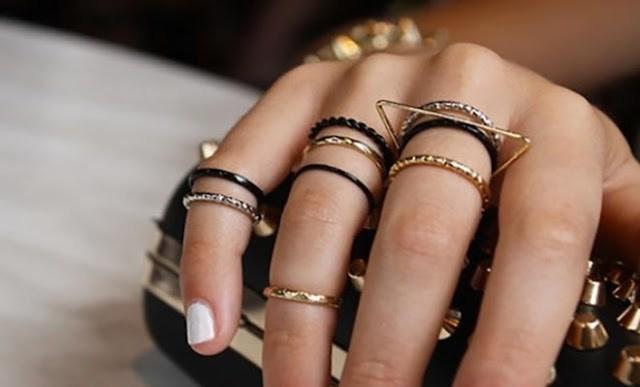 Το δάχτυλο που φοράτε δαχτυλίδια συμβολίζει κάτι!