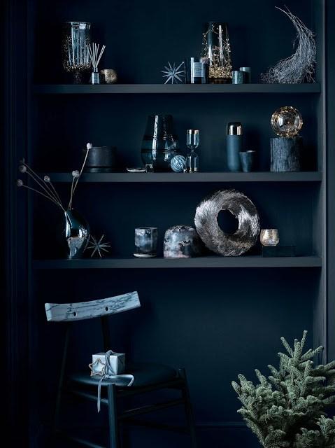 μπλε χριστουγεννα
