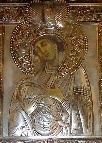 εικόνα της Παναγίας Ροβέλιστας στην Άρτα