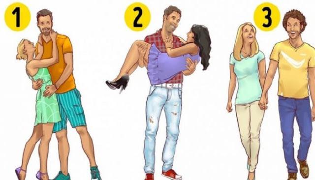 Επιλέξτε το πιο ευτυχισμένο ζευγάρι και θα σας πούμε κάτι σχετικά με τη σχέση σας