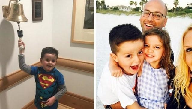 Αυτό Το Αγόρι Που Γιορτάζει Τη Νίκη Του Απέναντι Στον Καρκίνο Είναι Ότι Πιο Συγκινητικό Έχετε Δει!