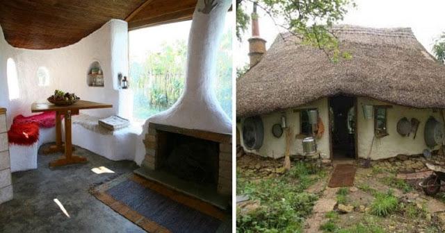 Δυο Λαρισαίοι φτιάχνουν με 1500 ευρώ σπίτια από άχυρο και πηλό κι έχουν γίνει ανάρπαστα