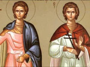 Read more about the article Οι Άγιοι Μάρτυρες Φώτιος και Ανίκητος 12 Αυγούστου