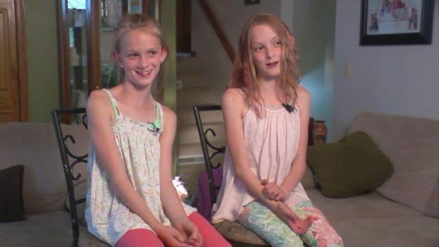 Γεννήθηκαν με κολλημένες τις καρδιές τους και σήμερα είναι 2 πανέμορφες έφηβες που γιορτάζουν 10 χρόνια διαχωρισμού