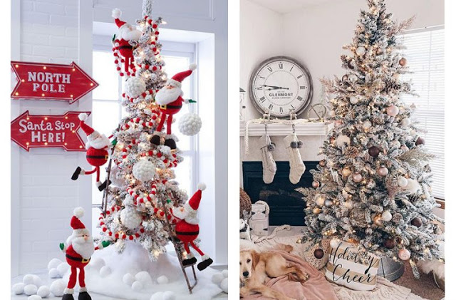 Χριστουγεννιάτικο δέντρο Ιδέες για να στολίσεις το δέντρο σου φέτος
