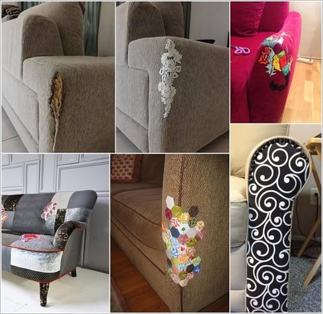 Read more about the article Επιδιορθώσετε τον σχισμένο ή γδαρμένο καναπέ σας με στυλ