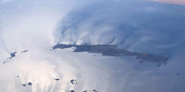 Read more about the article Η Κρήτη ανάποδα: Η εντυπωσιακή φωτογραφία από το Διάστημα