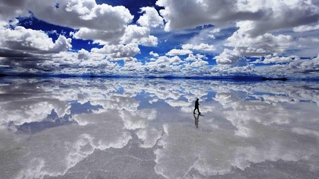 20 τοπία στον κόσμο  de Uyuni — Βολιβία