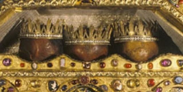 Οι κάρες των Τριών Μάγων.
