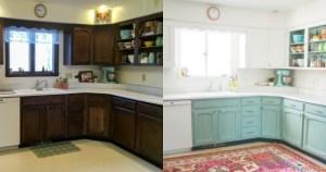 10 υπέροχες ιδέες για να ανανεώσετε τα ντουλάπια της κουζίνας σας χωρίς να ξοδέψετε ένα σωρό λεφτά