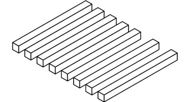 Πόσες μπάρες μπορείς να μετρήσεις στην εικόνα; Το τεστ-οφθαλμαπάτη που ελάχιστοι απαντούν σωστά