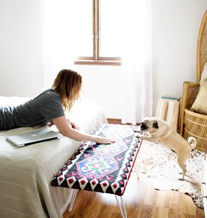 Πως να φτιάξετε ένα εντυπωσιακό διακοσμητικό παγκάκι για το σπίτι!