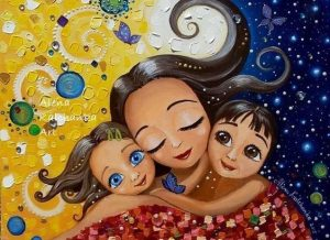 Η αγάπη της μάνας δεν μοιράζεται, πολλαπλασιάζεται