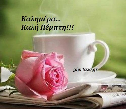 καλημερα ροζ λουλουδι