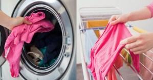 10 λάθη στο πλύσιμο που καταστρέφουν τα ρούχα σας