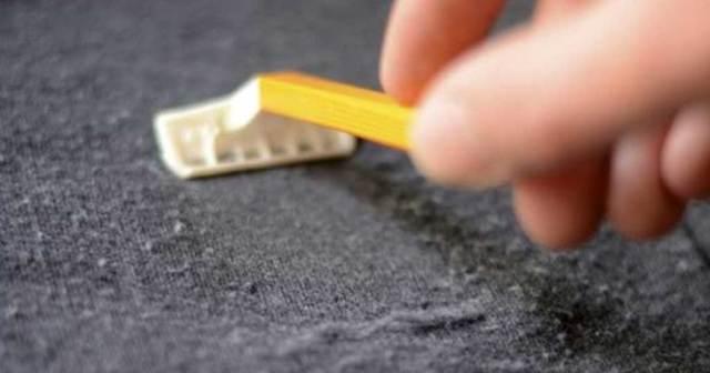 Βγάλτε το χνούδι από την μπλούζα με το ξυράφι
