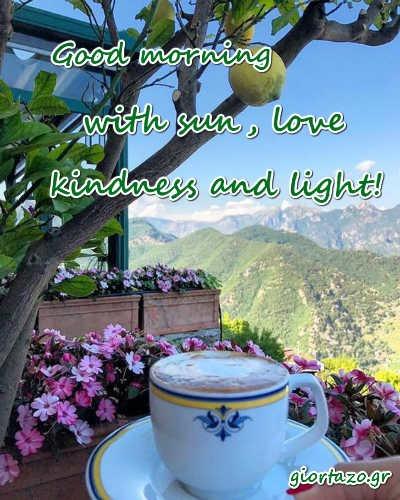 sun, love, kindness and light!