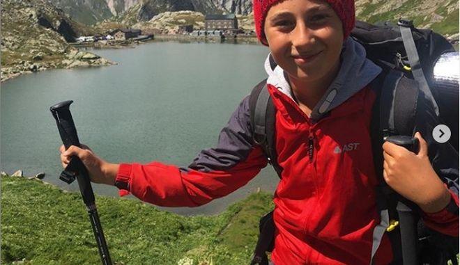 Δεκάχρονος περπάτησε 2.700 χιλιόμετρα